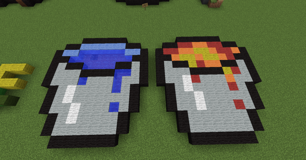 minecraft_pixel_art_water_and_lava_buckets_by_sabathepony-d7zrg70